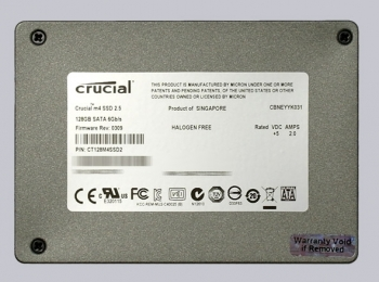 SSD 128GB CRUCIAL SATA 6.0GB/S