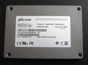 SSD 256GB MICRON SATA 6.0GB/S
